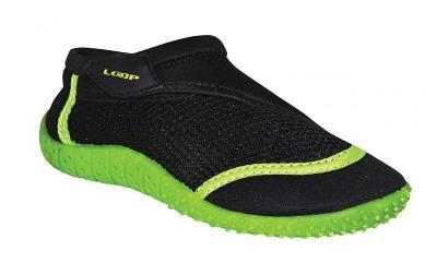 Loap Hank Kid Černo-Zelená boty do vody EU 28