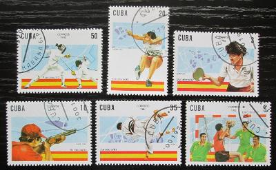 Kuba 1992 LOH Barcelona Mi# 3547-52 0610