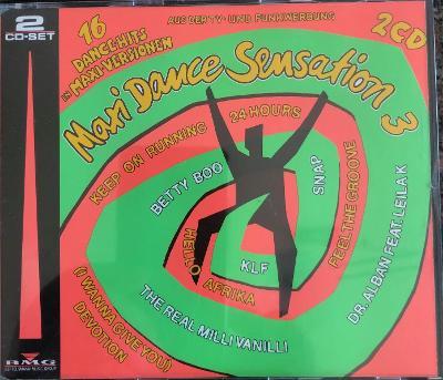 2CD MAXI DANCE SENSATION 3
