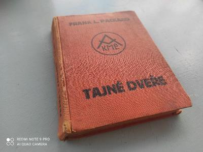 Stará kniha / Tajné dveře / Frank L. Packard 1934