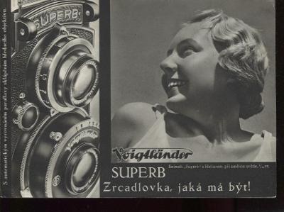 Fotoaparát firmy Voigtländer, Superb (hlubotisk)