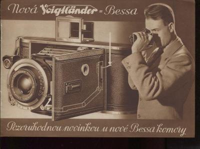 Fotoaparát firmy Voigtländer, Bessa (hlubotisk, foto) - p