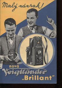 Nová Voigtländer - Brillant (fotokomora)