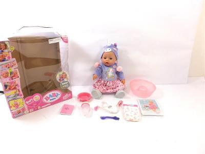BABY born Soft Touch panenka speciální edice v jednorožčím oblečku, 43
