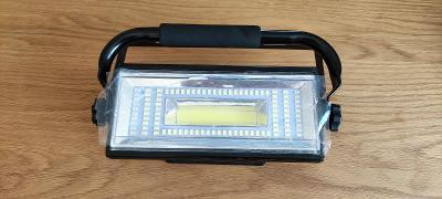 Dobíjecí LED reflektor 100W IP65 8000LM