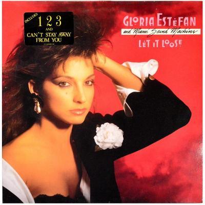 Gramofonová deska GLORIA ESTEFAN & MIAMI SOUND MACHINE - Let it loose