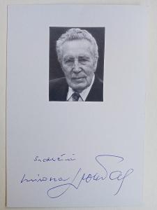 Autogram Miroslav Doležal ... Vlčí jáma, Sňatky z rozumu