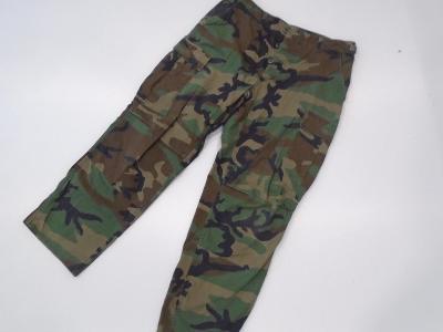Originál. US Army/USMC kalhoty BDU v maskování Woodland, použité