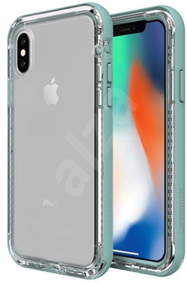 Pouzdro na mobil LifeProof Next pro iPhone X průhledné - světlá zelená
