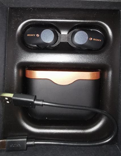 Bezdrátová sluchátka Sony WF-1000XM3 - TV, audio, video