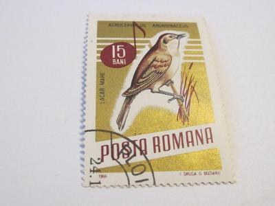 Prodávám známky Rumunsko 1966, Zpěvní ptáci
