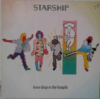 LP Starship (Jefferson Airplane) - Knee Deep In The Hoopla, 1985 EX