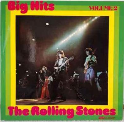 LP The Rolling Stones - Big Hits Volume 2, 1975 EX