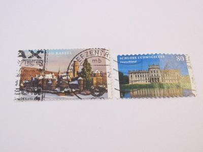 Prodávám známky Německo 2016, Hrady a zámky