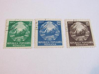 Prodávám známky Rumunsko 1950, Výsostné znaky