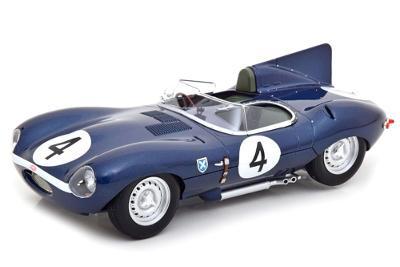 JAGUAR D TYPE - Le Mans 1956 1:18 CMR
