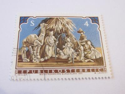 Prodávám známkyRakousko 1981, Vánoce 81, Betlém