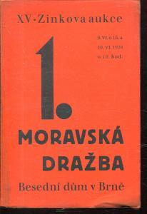 1. Moravská knižní dražba ( XV. Zinkova aukce)