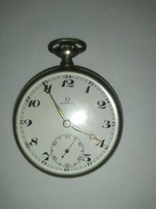 Staré kapesní hodinky Omega