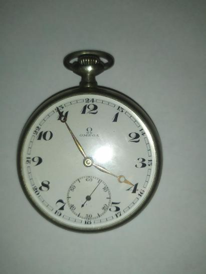 Staré kapesní hodinky Omega - Starožitnosti