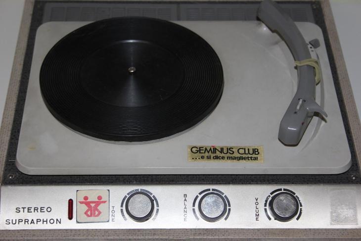 STARÝ GRAMOFON SUPRAPHON - FUNKČNÍ - PĚKNÝ - TV, audio, video