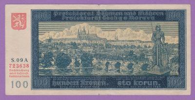 100 K 1940 - I. vydání  S. 09 A