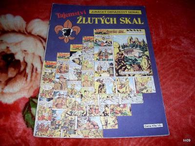 TAJEMSTVÍ ŽLUTÝCH SKAL--1990--JUNÁCKÝ OBRÁZKOVÝ SERIÁL-INFO