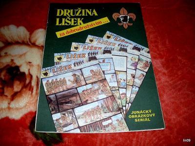DRUŽINA LIŠEK ZA DOBRODRUŽSTVÍM--1991--JUNÁCKÝ OBRÁZKOVÝ SERIÁL-INFO