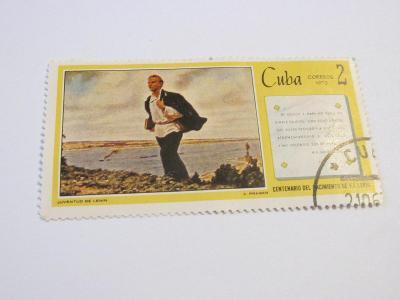 Známky Kuba 1970, Mladý Lenin, 100.výročí narození