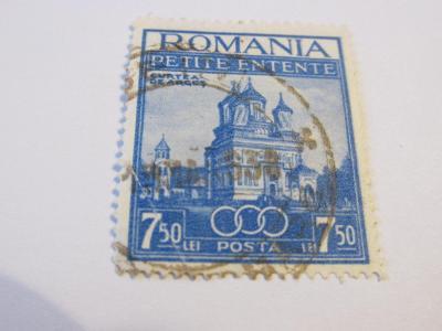 Známky  Rumunsko 1937,  Klášter Arges Abbey