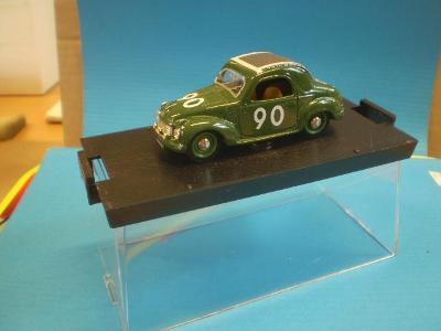 BRUMM - FIAT 500C - MILLE MIGLIA 1937 - 1:43