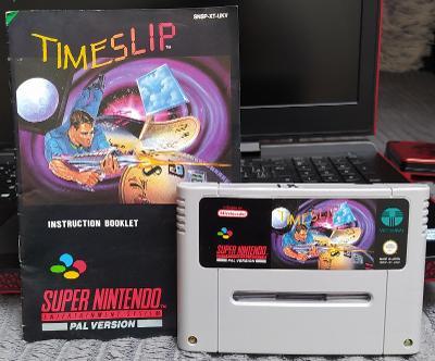(SNES-1) Nintendo SNES /Timeslip/ PAL-UKV