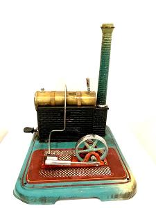 Märklin 5 parní stroj maketa parného strojku krasny