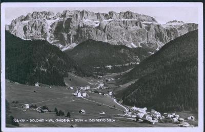 27A1944 Dolomiti Val Gardena - Selva