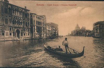 27A1972 Itálie Benátky / Venezia  - kanál Grande