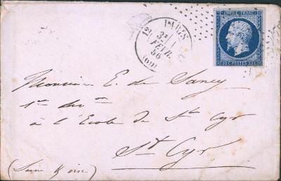 17B758 1856, Frankreich/ Francie 13, na důstojníka - vojenský regiment