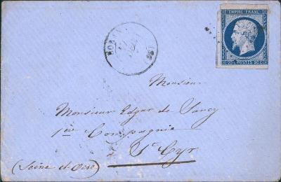 17B759 1855, Frankreich/ Francie 13, na důstojníka - vojenský regiment