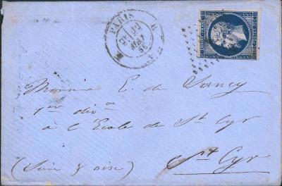 17B762 1856, Frankreich/ Francie 13, na důstojníka - vojenský regiment