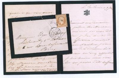 17B763 1860, Frankreich/ Francie 13, na důstojníka - vojenský regiment