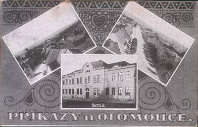 10D3579 Příkazy u Olomouce - okénková pohlednice