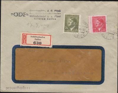 12B449 Firemní R dopis Sušice