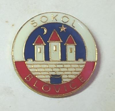 P58 Odznak SOKOL Blovice   1ks