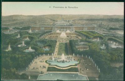 27A1712 Francie Versailles - panoráma