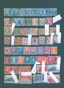 17A55 Známky - FRANCIE soubor