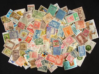 Sbírka známek Jižní Amerika, mnoho starých, i neražené