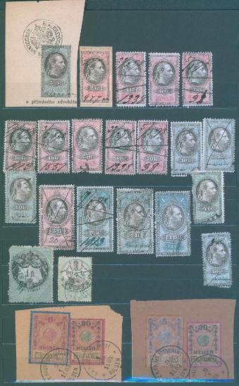 13D107 Soubor- kolky Rakousko- Uhersko- +1+2+3(1875)!! GULDEN !!!