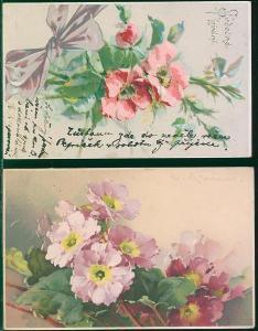 25A600 Srdečné přání - květiny