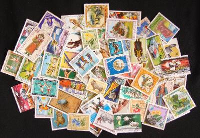Sbírka známek Mongolsko