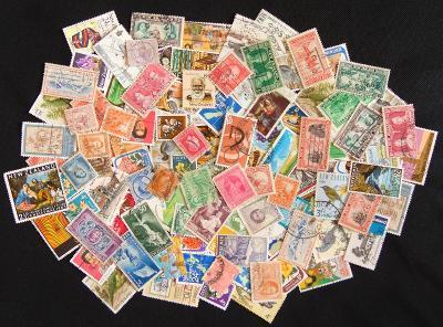 Pěkná sbírka známek Nový Zéland, mnoho starých!