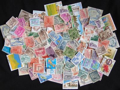 Pěkná sbírka známek Pakistán, mnoho starých!